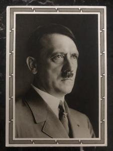 1939 Calw Germany Real Picture Postcard RPPC cover to Manheim Hitler Portrait