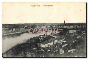 Postcard Old Toulouse Vue Generale