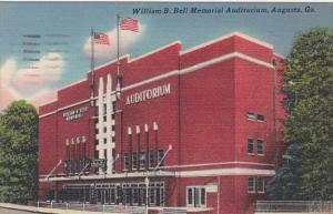 Georgia Augusta William B Bell Memorial Auditorium 1958