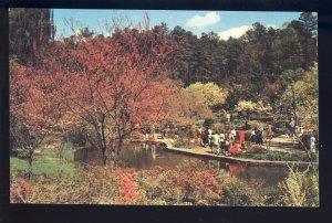 Durham, North Carolina/NC Postcard, Scene In Duke Gardens, Duke University