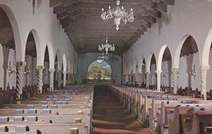 Deeply corbeled ceiling, St. Philip's in the Hills Episcopal Church, TUCSON, ...