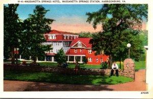 Virginia Harrisonburg Massanetta Springs Hotel Massanetta Springs Station