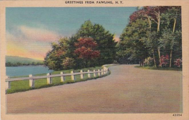 New York Greetings From Pawling