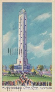 CHICAGO , Illinois , 1934 Exposition, Havoline Thermometer