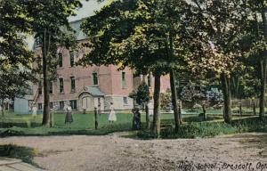 PRESCOTT , Ontario , Canada , 1913 ; High School