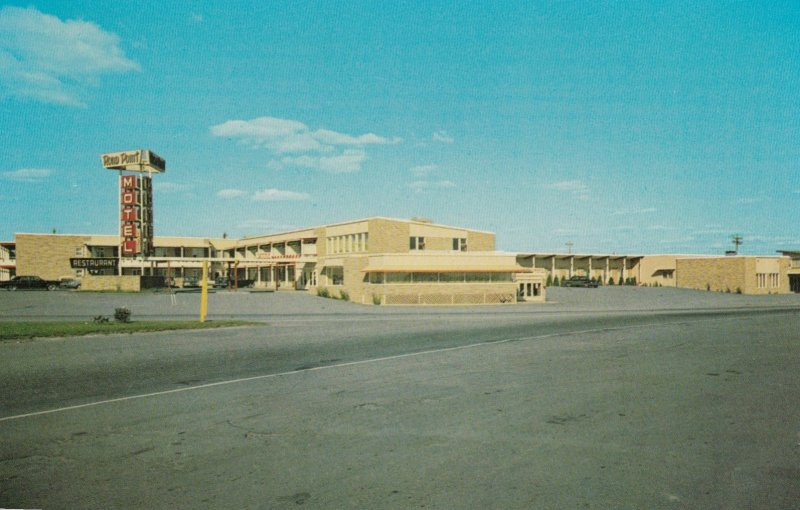 LEVIS, QUEBEC, Canada, ROND POINT MOTEL, 50-60s