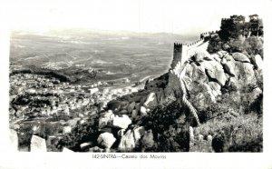 Spain Sintra Castelo dos Mouros RPPC 06.84