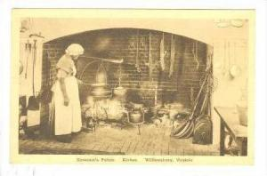 Governor's Palace,Kitchen,Williamsburg,Virginia,00-10s