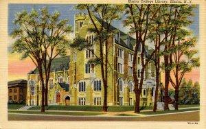 NY - Elmira. Elmira College Library