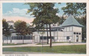 Indiana Winona Lake The Auditorium 1911 Curteich