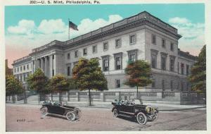 PHILADELPHIA, Pennsylvania, 1910s; U.S. Mint