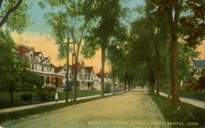 CT - Bristol. Bellevue Avenue looking North