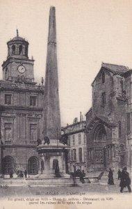 ARLES, Bouches-du-Rhone, France, 1900-1910s; L'Obelisque