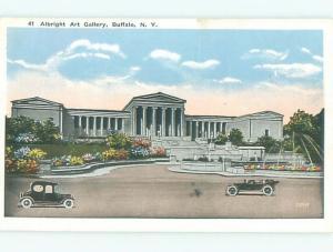 W-Border MUSEUM SCENE Buffalo New York NY W5845