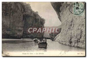 Postcard Old Tarn Gorges The Detroits