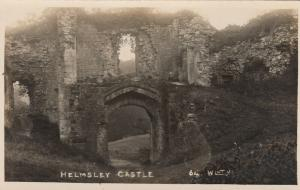 RP: HELMSLEY , North Yorkshire , England , 20-40s ; Helmsley Castle