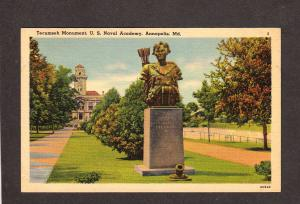 MD US Naval Academy Navy Military Annapolis Maryland Postcard United States