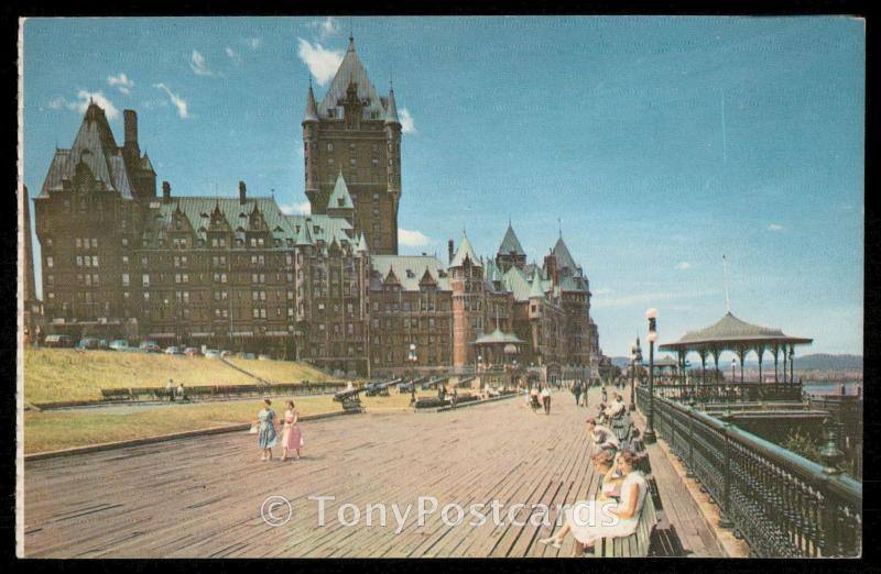 Chateau-Frontenac and Dufferin Terrace