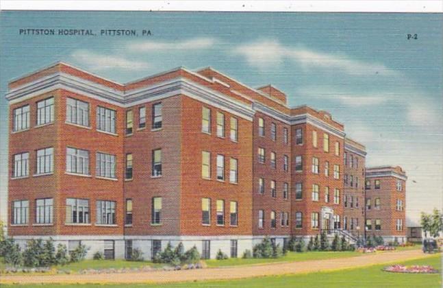 Pennsylvania Pittston Pittston Hospital