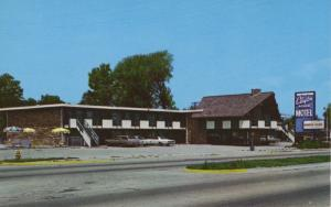 Clayton House Motel ~ Loves Park Illinois IL ~ Vintage Postcard