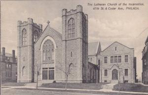 Exterior, The Lutheran Church of the Incarnation,  47th St. Cedar Ave.,  Phil...