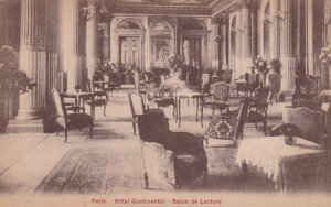 Hotel Continental, Salon de Lecture, Paris, France, 00-10s