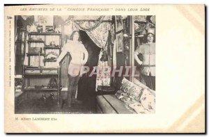 Postcard Old Theater M Albert Lambert Son