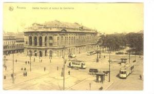 ANVERS, Belgium, Theatre fiamand et avenue du Commerce,00-10s