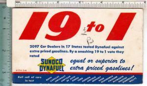 19 to 1 Sunoco Dynafuel