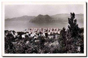 Postcard Old Village Piana and the Gulf of Porto