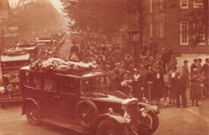 Nostalgia Postcard 1936 Funeral Cortege of Captain Campbell Black, Repro NS16