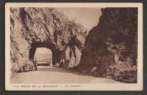 The Tunnel On Route De La Schlucht, France - Unused