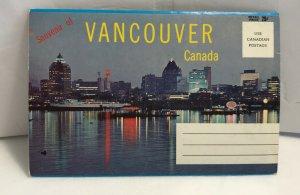 Vintage Vancouver Canada - Cityscape and Landmarks - Souvenir Postcard Folder 12