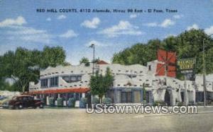 Red Mill Courts El Paso TX Unused