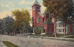 New York Gloversville Congregational Church 1915