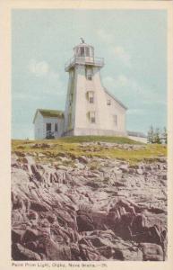 Hand-Colored, Point Prim Lighthouse, Digby, Nova Scotia, Canada,10-20s
