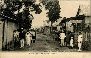 CPA AK Andovoranto- La Rue du Commerce MADAGASCAR (819578)