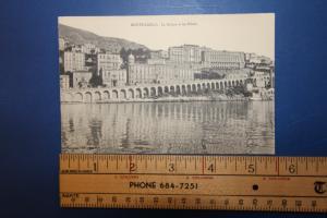 MONTE-CARLO La Rampe et les Hotels