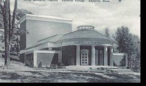 Massachusetts Kirby Memorial Theatre  Amherst  College  Albertype