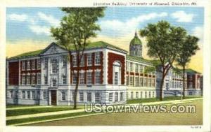 Educational Bldg, University of Missouri Columbia MO Unused