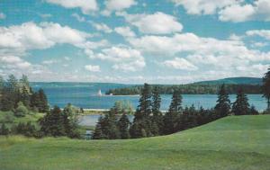 Baddeck Harbour-Cape Breton,  Nova Scotia,  Canada,   40-60s