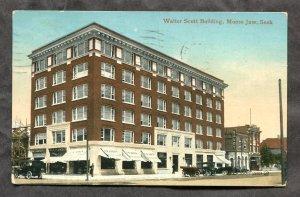 4857 - MOOSE JAW Sask 1913 Water Scott Building