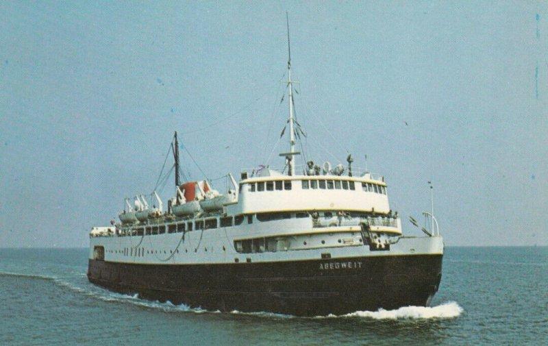 M.V.S. ABEGWEIT, 1950s-60s; Icebreaker, carries passenger and car traffic