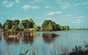 Peaceful Lake Where Fishing Is Good In Alabama