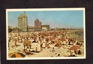 CA View Long Beach California Calif Postcard Carte Postale Hotel Hotels