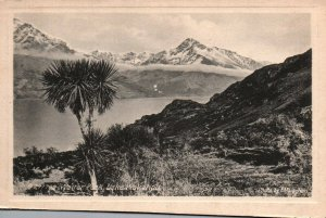 Lake Wakatipu New Zealand Walter Peak Vintage Postcard