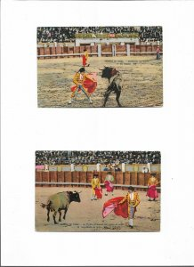 Spain - Bullfighting Postcard Lot of 5 01.08