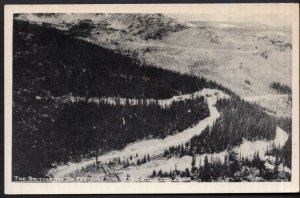 Colorado The Switchbacks on Berthoud Pass The Continental Divide - RPPC
