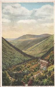 US    PC2216  CRAWFORD NOTCH FROM ELEPHANT'S HEAD, WHITE MOUNTAINS, NH