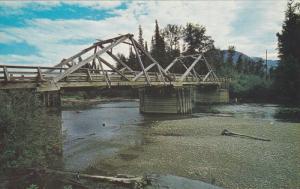 Beaver River Bridge, East of McBRIDE, British Columbia, Canada, PU-1975